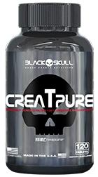 Creatpure - Black Skull - 120 Cápsulas