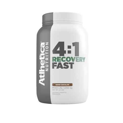 Recovery Fast 4:1 - Chocolate - Atlhetica Nutrition - 1,05 Kg