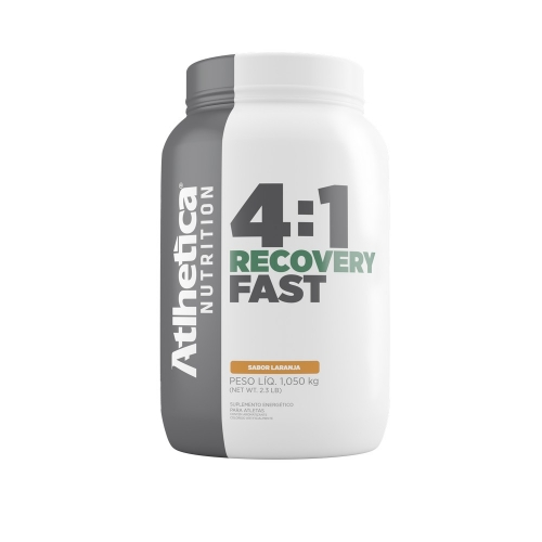 Recovery Fast 4:1 - Laranja - Atlhetica Nutrition - 1,05 Kg