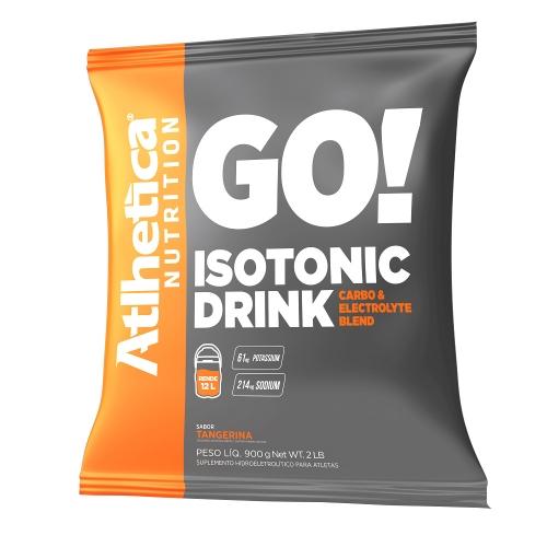 Isotonic Drink Sabor Tangerina (900g) - Atlhetica Nutrition