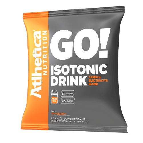 Isotonic Drink - Tangerina - Atlhetica Nutrition - 900g