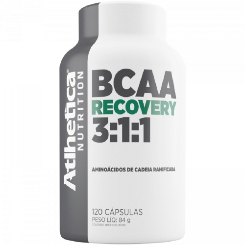 BCAA Recovery 3:1:1 (120 Cápsulas) - Atlhetetica Nutrition