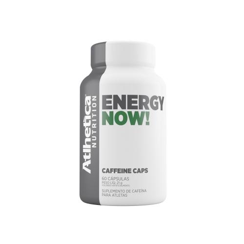 Energy Now (60 Cápsulas) - Atlhetica Nutrition