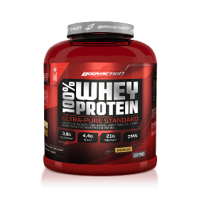 100% Whey Protein - Body Action -Chocolate - 2.270g