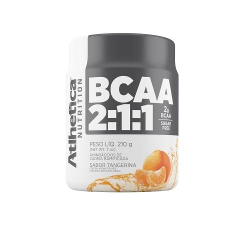 BCAA 2:1:1 Pro Series Sabor Tangerina (210g) - Atlhetica Nutrition