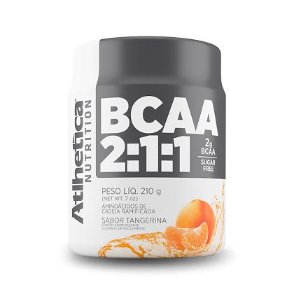 BCAA 2:1:1 - Pro Series - Atlhetica Nutrition - Tangerina - 210g