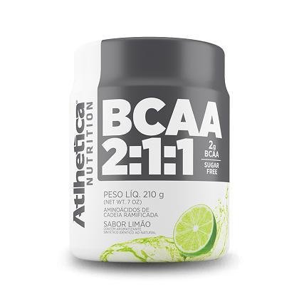 BCAA 2:1:1 - Pro Series - Atlhetica Nutrition - Limão - 210g