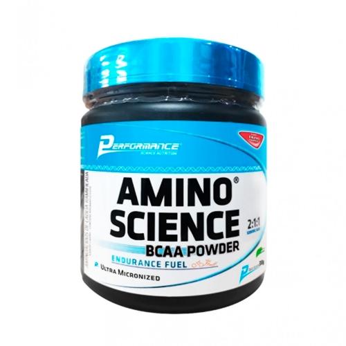 Amino Science BCAA Powder - Laranja (300g) Performance Nutrition