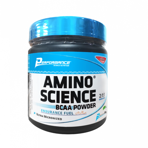 Amino Science BCAA Powder - Laranja - Performance Nutrition - 300g