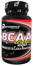 BCAA Science 1000 - Performance Nutrition - 100 Cápsulas