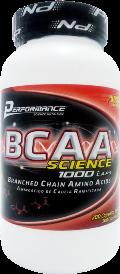 BCAA Science 1000 - Performance Nutrition - 200 Cápsulas