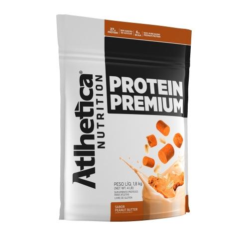 Protein Premium - Pro Series - Atlhetica Nutrition - Peanut Butter - 1,8 Kg (Val. 10/2018)