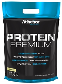 Protein Premium - Pro Series - Atlhetica Nutrition - Peanut Butter - 1,8 Kg (Val. 10/2018)