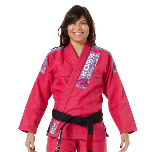 Kimono Koral MKM Harmonik - Pink e Purple - F1