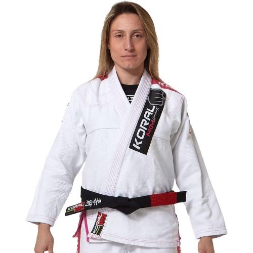 Kimono Koral MKM Harmonik Girl - Branco - F1