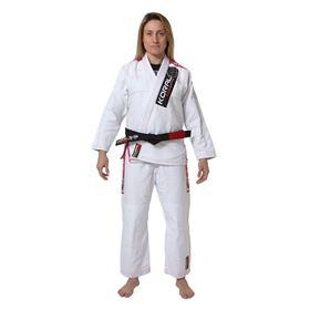 Kimono MKM Harmonik Girl - Branco - Koral - F3