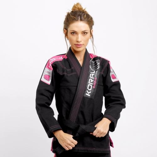 Kimono Koral MKM Harmonik Girl - Preto - F1