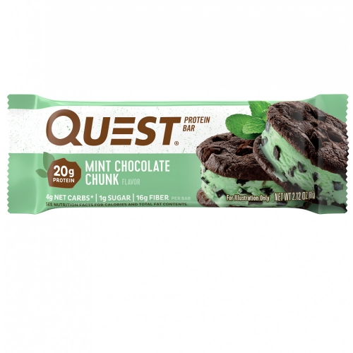 Quest Bar - Protein Bar - Chocolate com Menta - 60g