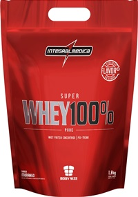 Super Whey 100% Pure (Refil) - Baunilha - Integralmédica - 1,8 Kg