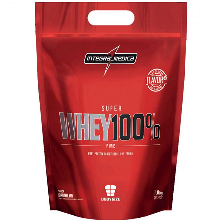 Super Whey 100% Pure (Refil) - Chocolate - Integralmédica - 1,8 Kg