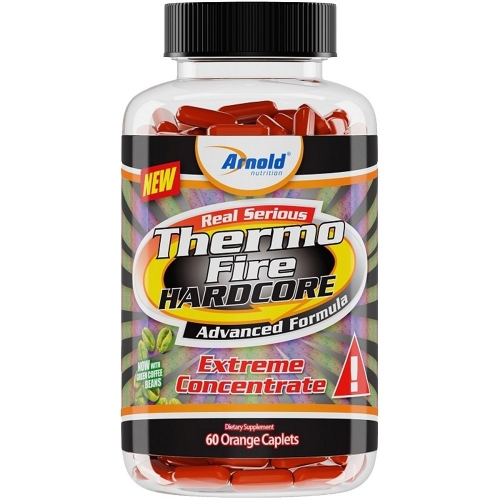 Thermo Fire Hardcore - Arnold Nutrition - 60 Tabletes