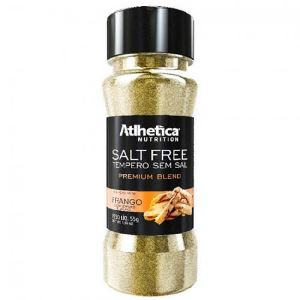 Tempero sem sal - Salt Free - Frango - Atlhetica - 55g