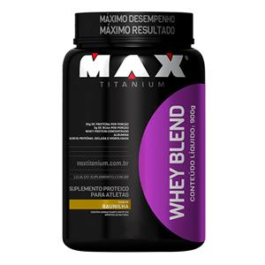 Whey Blend - Max Titanium - Baunilha - 900g