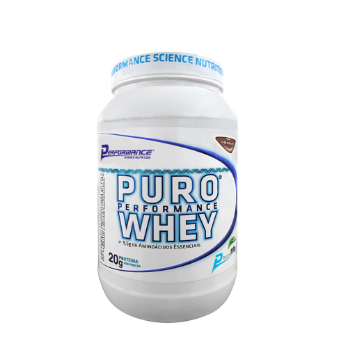 Puro Whey Performance Nutrition - Morango - 909g