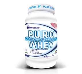 Puro Whey Performance Nutrition - Morango - 909g