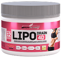 Lipo Drain 4D - Body Action - Mix de Frutas - 100g
