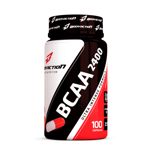 BCAA 2400 - Body Action - 200 Cápsulas