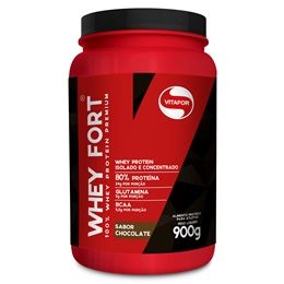 Whey Fort - Vitafor - Chocolate - 900g