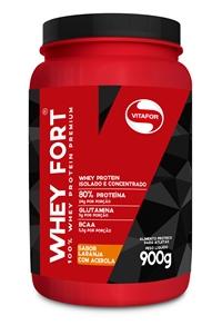 Whey Fort - Vitafor - Laranja com Acerola - 900g