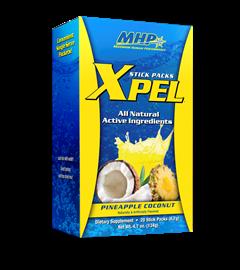 Xpel MHP - Abacaxi com Coco - 20 Sachês