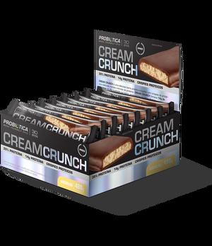 Cream Crunch Bar  - Pró Premium Line - Probiótica - 40 g (1 Caixa - 12 Unidades) - Baunilha