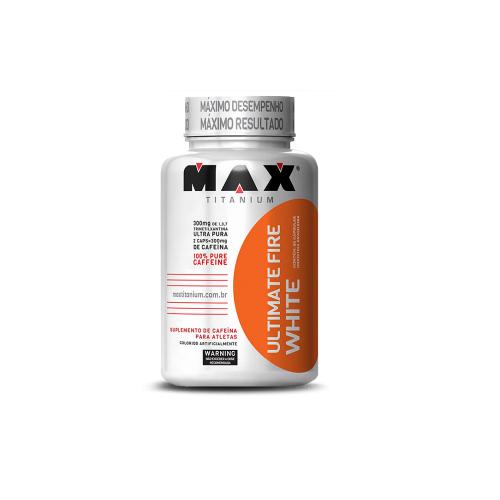 Ultimate Fire White - Max Titanium - 60 Cápsulas