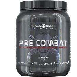 Pre Combat - Black Skull - Laranja - 600g