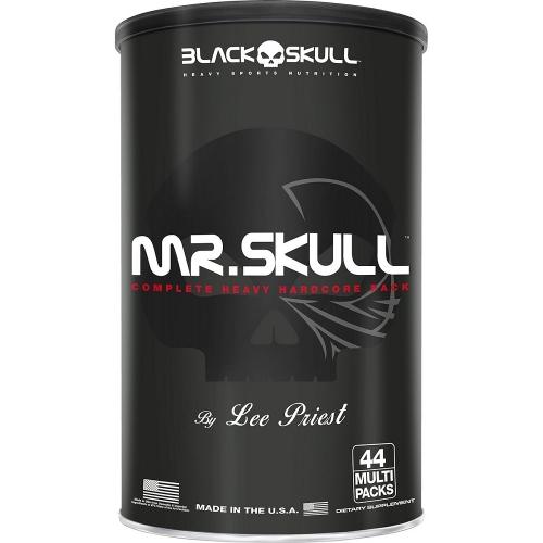 Mr. Skull (44 Multi Packs) - Black Skull