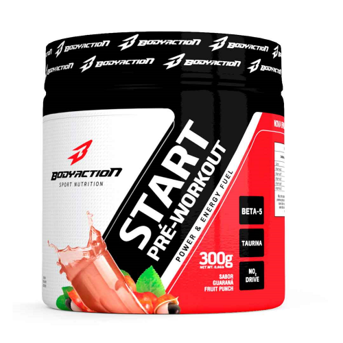 Start Pré-Workout - Body Action - Guaraná com frutas - 300g