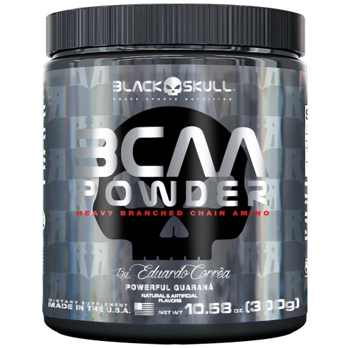 BCAA Powder - Black Skull - Neutro - 300g