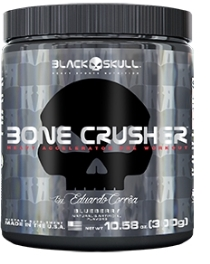 Bone Crusher - Black Skull - Fruit Punch - 300g