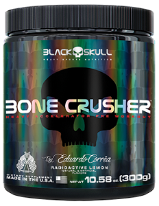 Bone Crusher Sabor Yellow Fever (300g) - Black Skull