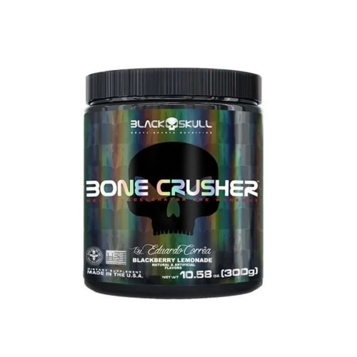 Bone Crusher Sabor Limão (300g) - Black Skull