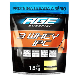 Ultra IPC 3 Whey Refil (1,8kg)  - AGE Chocolate