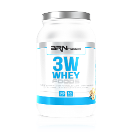 3W Whey Foods - BR Foods - Baunilha - 900g