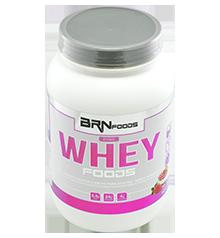 Pink Whey - BR Foods - Morango - 900g
