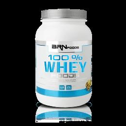 100% Whey Foods - BR Foods - Morango - 900g