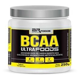 BCAA Ultra Foods Powder 4:1:1 - BR Foods - Tangerina - 250g