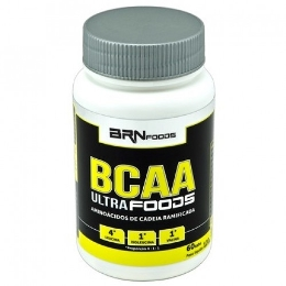 BCAA Ultra Foods 4:1:1 - 1,5g - BR Foods - 60 Tabletes