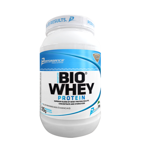 Bio Whey Protein STEVIA - Performance Nutrition - Morango - 909g